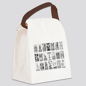 ancient tarot Canvas Lunch Bag