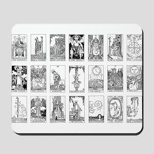 ancient tarot Mousepad