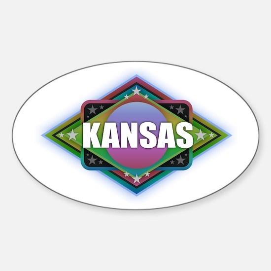 Kansas Diamond Decal
