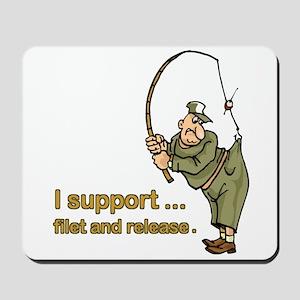 Fisherman Mousepad