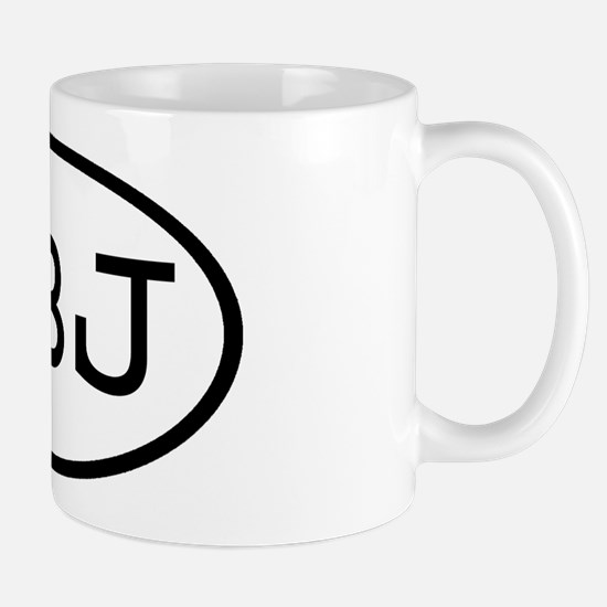 PBJ Oval Mug