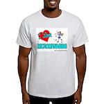 I Love Micromanaging Ash Grey T-Shirt