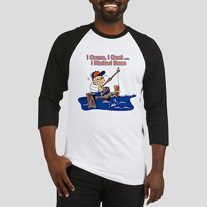 Bass Fishing Baseball Jersey