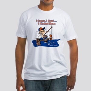 Bass Fishing Fitted T-Shirt