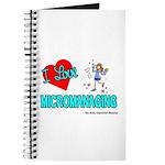 I Love Micromanaging Journal