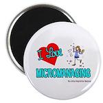 I Love Micromanaging Magnet