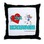 I Love Micromanaging Throw Pillow