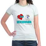 I Love Micromanaging Jr. Ringer T-Shirt