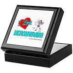 I Love Micromanaging Keepsake Box
