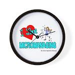 I Love Micromanaging Wall Clock