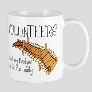 Building Bridges Large Mugs