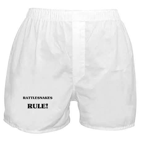 Rattlesnakes Rule Boxer Shorts