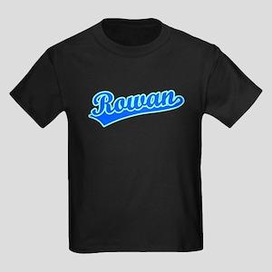 Retro Rowan (Blue) Kids Dark T-Shirt