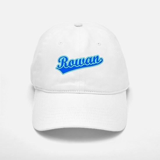 Retro Rowan (Blue) Baseball Baseball Cap