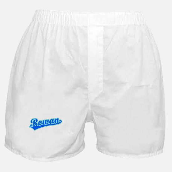 Retro Rowan (Blue) Boxer Shorts