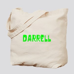 Darrell Faded (Green) Tote Bag