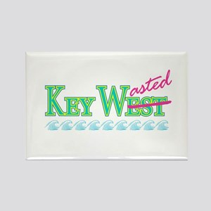 Key Wasted - Rectangle Magnet
