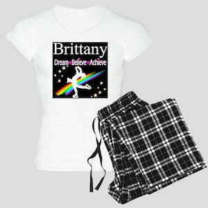 SPARKLING GYMNAST Women's Light Pajamas