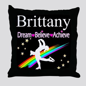 SPARKLING GYMNAST Throw Pillow