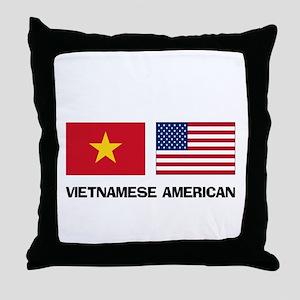 Vietnamese American Throw Pillow