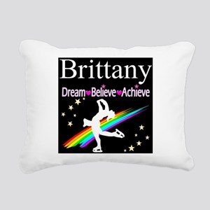 SPARKLING GYMNAST Rectangular Canvas Pillow