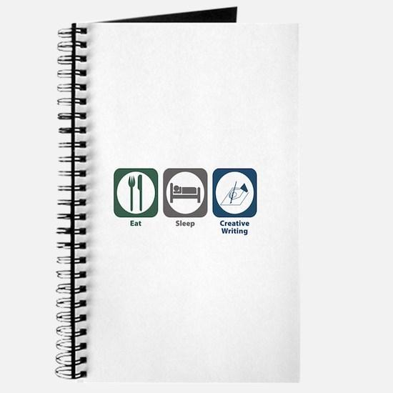 Eat Sleep Creative Writing Journal