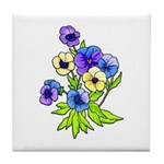 Flowers of Spring Tile Coaster
