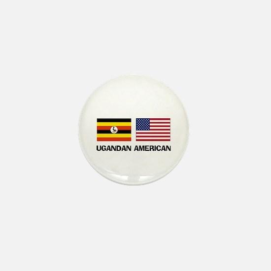 Ugandan American Mini Button