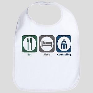 Eat Sleep Counseling Bib