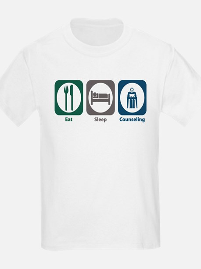 Eat Sleep Counseling T-Shirt