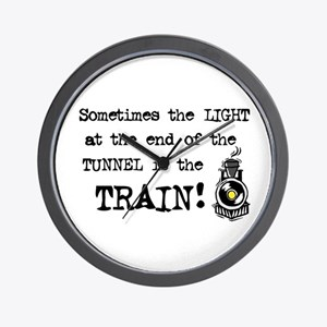 Tunnel Light Wall Clock