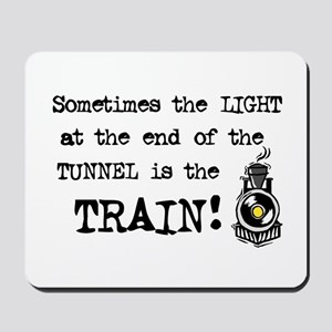 Tunnel Light Mousepad