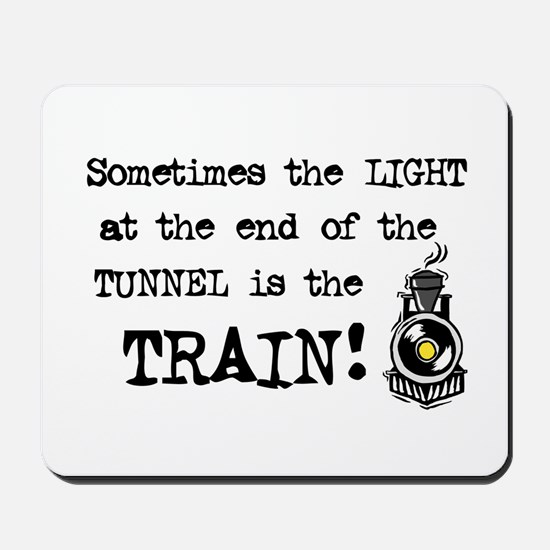 Tunnel Light Mousepad