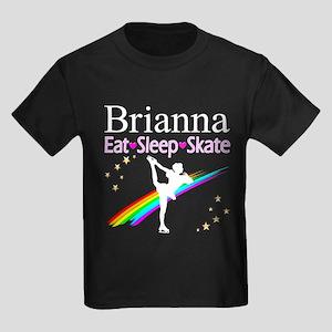 SPARKLING GYMNAST Kids Dark T-Shirt