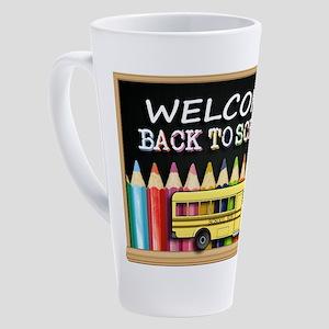 WELCOME BACK TO SCHOOL BUS 17 oz Latte Mug