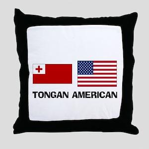 Tongan American Throw Pillow