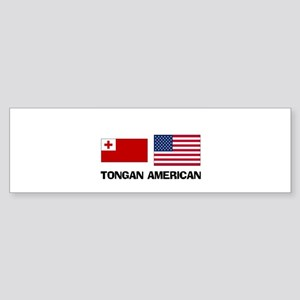 Tongan American Bumper Sticker