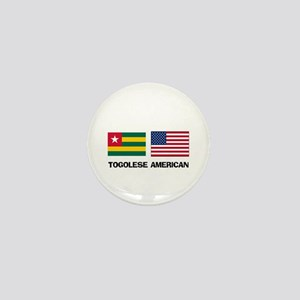 Togolese American Mini Button