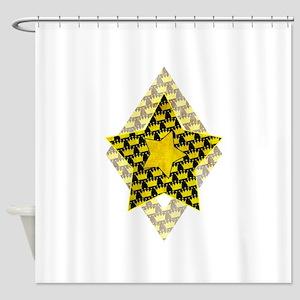 Crowns Pattern Shower Curtain