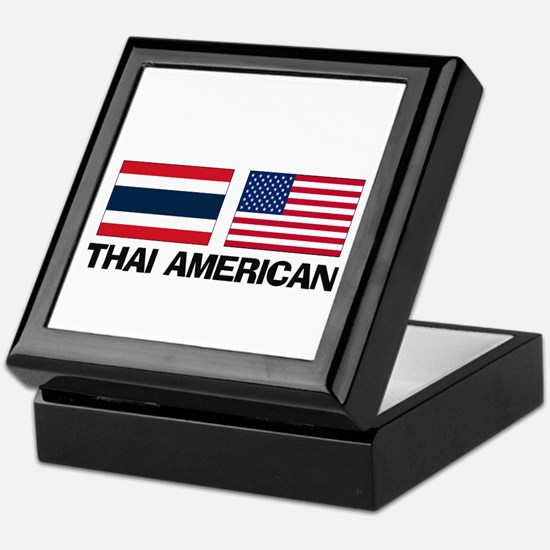 Thai American Keepsake Box