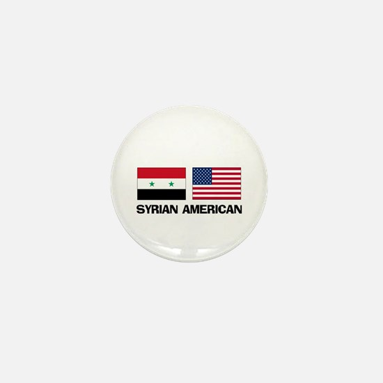 Syrian American Mini Button