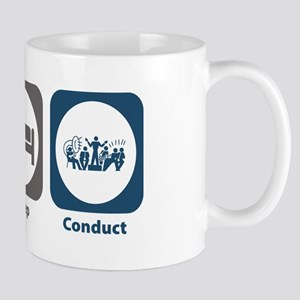 Eat Sleep Conduct Mug