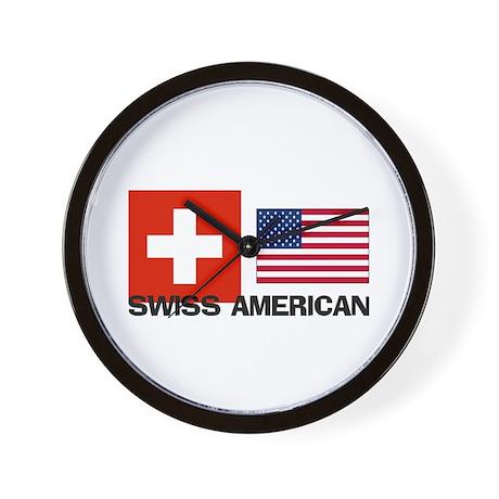 Swiss American Wall Clock