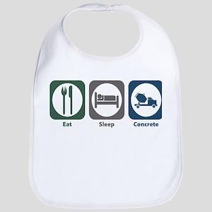 Eat Sleep Concrete Bib