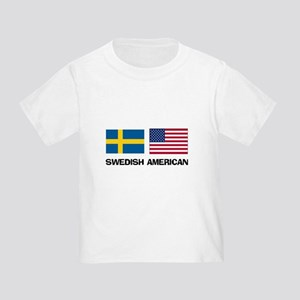 Swedish American Toddler T-Shirt