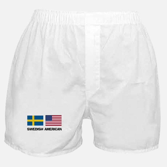 Swedish American Boxer Shorts