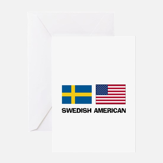 Swedish American Greeting Card