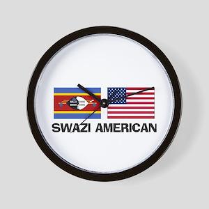 Swazi American Wall Clock