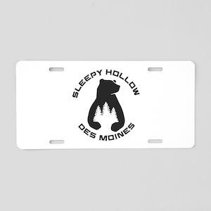 Sleepy Hollow Sports Park Aluminum License Plate