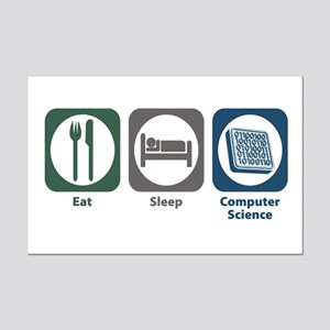 Eat Sleep Computer Science Mini Poster Print